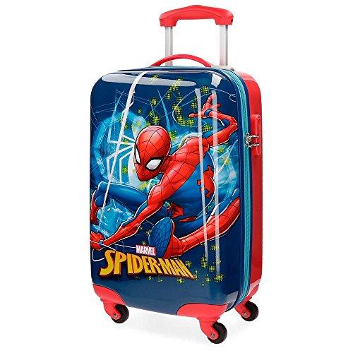 Marvel Spiderman Neo Equipaje Infantil, 55 cm, 33 Litros, Multicolor