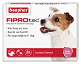 Beaphar FIPROtec Pipette for  Small Dog, (6 treatments)