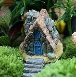 Outflower Miniature - Mini maceta de decoración para jardín de hadas, decoración de paisaje, pecera, accesorios de resina, bricolaje, decoración para el hogar y el jardín