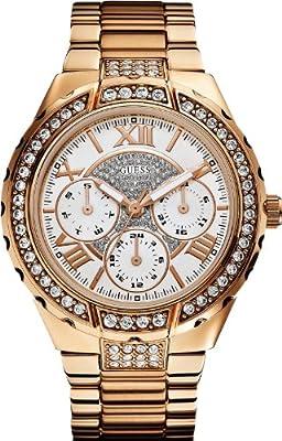 Reloj Guess W0111L3 de cuarzo para mujer con correa de acero inoxidable bañado de Guess