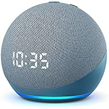 All-new Echo Dot (4th generation) | Smart speaker with clock and Alexa | Twilight Blue
