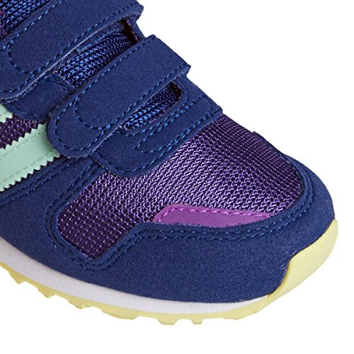 adidas Zx 700 Cf C, Chaussures de Sport Garçon Violet - Morado (Puruni / Verhie / Ftwbla)