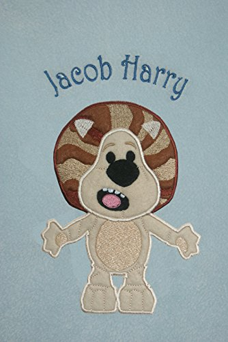 Raa Raa The Noisy Lion Luxury Personalised Applique for sale  Delivered anywhere in UK