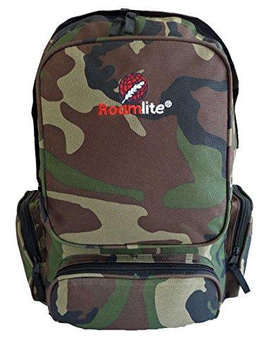 0e880829 Boys Kids Mens Camo DPM Backpack Rucksack - Childrens School Bag - A4  Medium Size Backpacks - Army Camouflage Print Bags - 6 Zipped Pockets -  25-30 ...