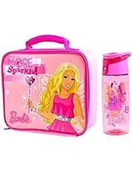 Barbie 'Sparkle' Bolsa para el almuerzo/caja y Tritan Hidratación Botella (500ml)