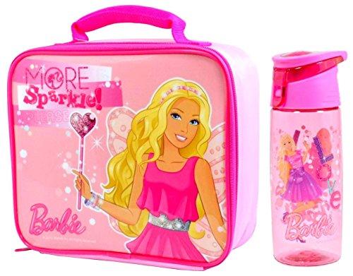 Barbie 'Sparkle' pranzo al sacco isolato / scatola e Flip 'n' Bottiglia di flusso (590ml)