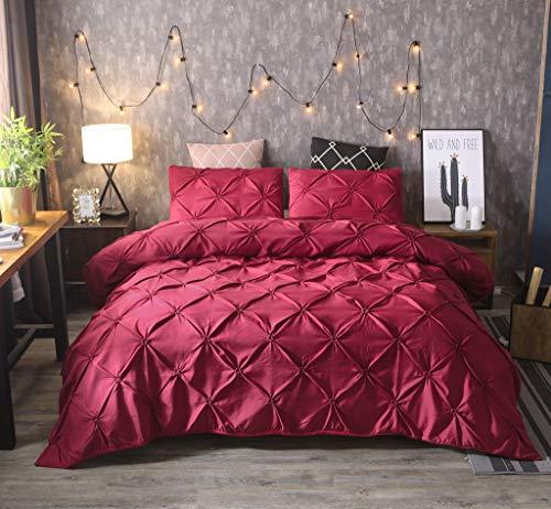 Tianya edredón cama funda almohada Juego ropa cama