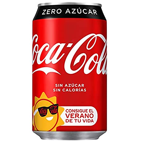 Coca Cola Zero Lata 330 ml