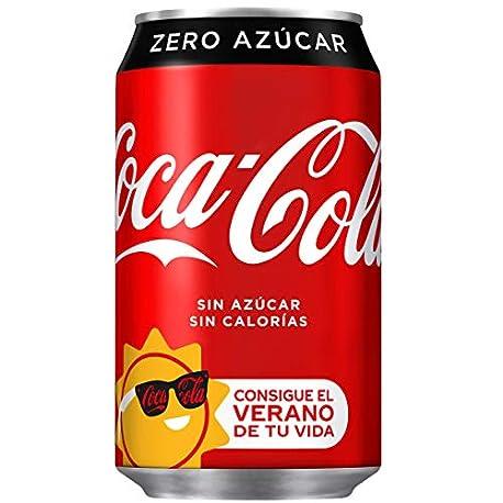 Coca Cola Zero Lata 330 ml pack de 12