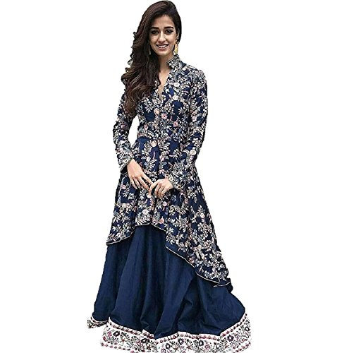 SkD Fashion prtinted party wear Coral MultiColor Latest Designer Party Wear, Traditional,...