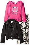 Little Lass Baby Girls 3 Piece Jacket Set Zebra