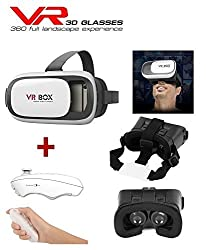 US1984 Vr headset with gaming remote - fully adjustable VR glasses. Inspired by Google Cardboard