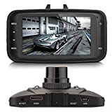 PANSIM 2.7-inch LCD screen Original Full HD 1080P Car Dash Camera with 4 IR LED for Night Vision (High Quality)