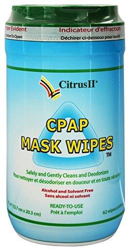 Citrus Magic - Citrus II CPAP Mask Wipes - 62 Wipe(s)