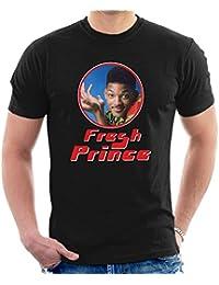 Fresh Prince Of Bel Will Smith Retro Photo Frame Men's T-Shirt
