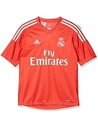 adidas A Gk JSY Y Camiseta de equipación-Línea Real Madrid, niños, Rojo