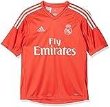adidas A Gk JSY Y Camiseta de equipación-Línea Real Madrid, niños, Rojo (rojbri/Blanco), 176