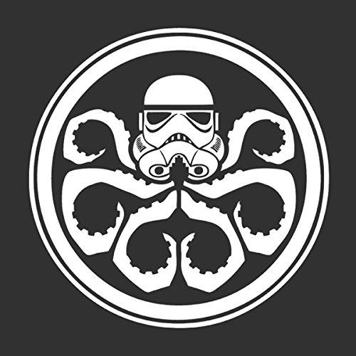 Star Wars Hydra Storm Trooper Logo Women's Hooded Sweatshirt Charcoal
