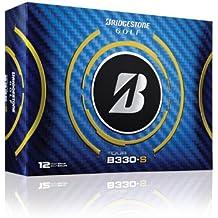 Bridgestone Tour B330-S - Lote de pelotas de golf (12 unidades), color blanco