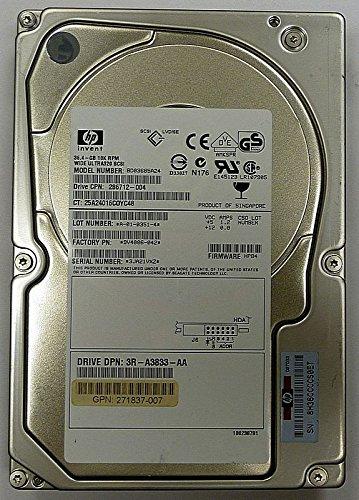 36,4GB HDD HP BD03685A24 Wide Ultra320 SCSI ID8177 (Scsi-festplatte Ultra320 Hp)