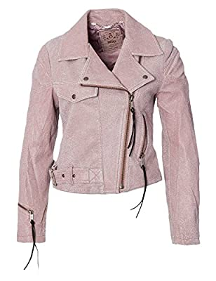 DIESEL Women leather jacket