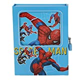 #8: Asera Spiderman Lock Diary for Boys Gifts options in Blue Colour