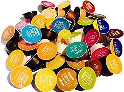 Nescafe Dolce Gusto Coffee Pods Capsules FLAVOURS = 44 PODS by Dolce Gusto by Nescafe Dolce Gusto