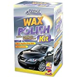 250ML CAR WAX POLISH KIT WITH MICROFIBRE CLOTH & SPONGE