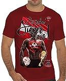 Stylotex Slimfit Fashion T-Shirt So sehn Sieger aus Guy Österreich Austria, Farbe:rot;Größe:XL