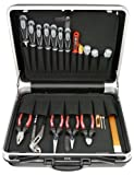 Famex 640-21 Werkzeug Komplettset Top-Qualität in ABS Schalenkoffer 25 L mit 66-teiligem Steckschlüsselsatz