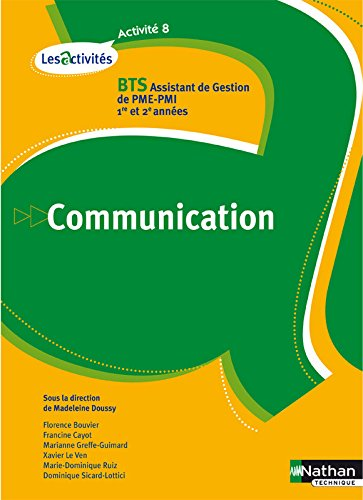 ACTIVITE 8 COMMUNICATION BTS