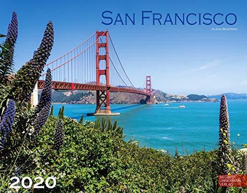 San Francisco 2020: Großformat-Kalender 58 x 45,5 cm