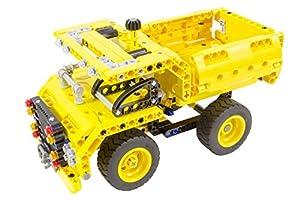 Tekno Toys 85000051-Active Bricks 2in1Volquete y avión