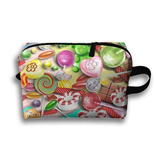er-Kosmetik sackt Make-uporganisator-Taschen-Beutel-Reißverschluss-Geldbeutel-Handtaschen-Handtasche ein ()