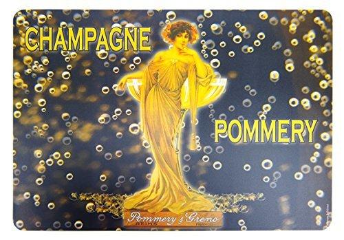 Cartexpo 40610 Alimentation Set de Table Champagne Pommery