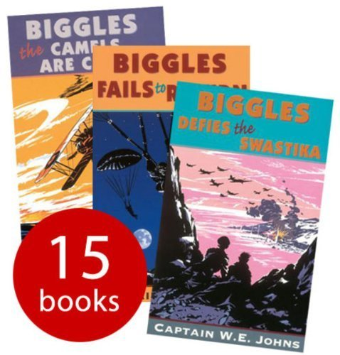 Biggles Collection - 15 Books (Paperback) RRP £89.95 by (2013-01-01)