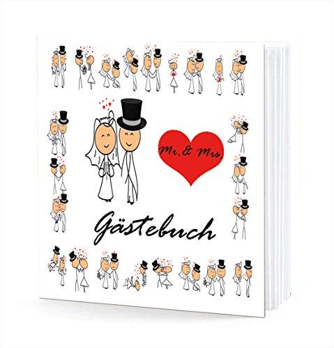Lustige gästebuch fragen hochzeit Hochzeitsgästebuch ♥