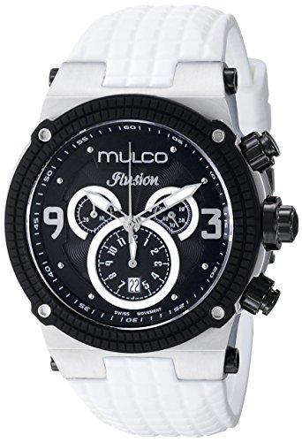 Mulco Unisex mw3–12140–015Ilusion color blanco reloj de cuarzo analógico Swiss