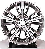 Yx-outdoor Silberne Leichtmetallfelgen, 17-19 Zoll, 15 Speichen für den Lacrosse BMW X1 X3 3er 520 525 (1 STÜCK),17X7.5J