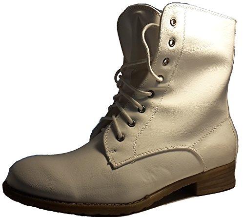 Bottes très élégantes, chaussures femme, blanc, modèle 11094104001206, différents modèles et tailles. Blanc.