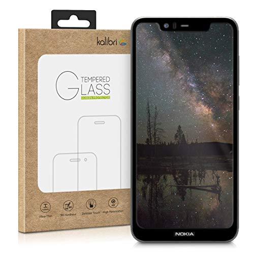 kalibri Nokia 5.1 Plus (2018) / X5 Folie - 3D Glas Handy Schutzfolie für Nokia 5.1 Plus (2018) / X5 - Auch für gewölbtes Bildschirm