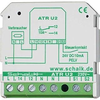 Schalk Trennrelais aktives ATR U2 1W,230VAV/24VDC PLEV Installationsrelais 4046929601160