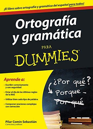 libro gramática y ortografía española