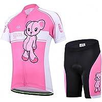 Vivi Pray Maillot Traje DE Ciclismo Pantalones Cortos para Ni?os/Ni?A