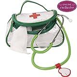 Götz 3402940 Doktor-Tasche Doktorchen-Zubehör für Puppen - 42-teiliges Puppenzubehör-Set für Babypuppen und Stehpuppen von 27 bis 50 cm