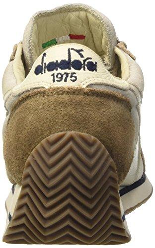 Diadora Equipe W S. Sw Hh, Scarpe da Ginnastica Donna Bianco Sporco (White/Cobblestone)