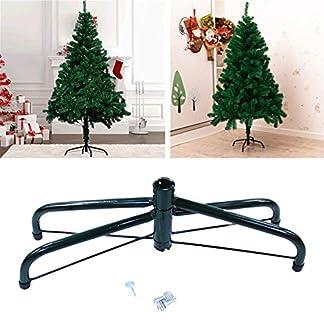 Eruditter-weihnachtsbaumstnder-Metall-Christbaum-Stnder-Christbaumstnder-Grn-Metall-Halter-Base-Gusseisen-Stand-Fr-Weihnachtsdekorationen