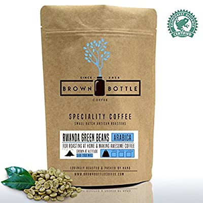 Speciality Rwanda Green Coffee Beans | 100% Arabica Speciality Rwandan Green Coffee Beans For Home Roasting from Brown Bottle Coffee Co