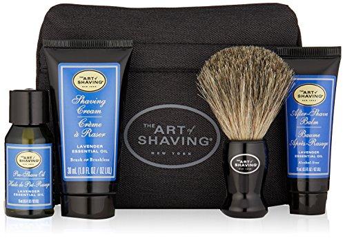 The Art of Shaving - Starter Kit With Bag Lavender