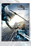 Square Enix sqx0011–Final Fantasy VII Sleeves Cloud, carte da gioco